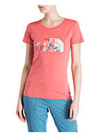 THE NORTH FACE T-Shirt EASY, Farbe: HELLROT (Bild 1)