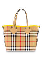 BURBERRY Wendeshopper THE LARGE GIANT, Farbe: VINTAGE CHECK/ GELB (Bild 1)
