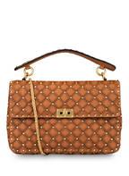 VALENTINO GARAVANI Handtasche ROCKSTUD SPIKE MEDIUM , Farbe: COGNAC (Bild 1)
