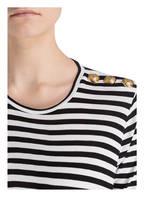 BALMAIN T-Shirt, Farbe: SCHWARZ/ WEISS GESTREIFT (Bild 1)