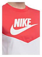 Nike Cropped-Shirt HERITAGE, Farbe: WEISS/ ROT (Bild 1)
