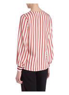 SEM PER LEI Blusenshirt, Farbe: CREME/ ROT GESTREIFT (Bild 1)