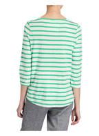 LIEBLINGSSTÜCK T-Shirt mit 3/4-Arm, Farbe: HELLGRÜN/ WEISS GESTREIFT (Bild 1)