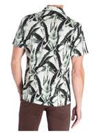 BOSS  Halbarm-Resorthemd RHYTHM Regular Fit, Farbe: WEISS/ GRÜN (Bild 1)