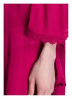 PINK PLANET Off-Shoulder-Tunika mit Häkelspitze, Farbe: FUCHSIA (Bild 1)