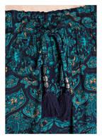 PINK PLANET Off-Shoulder-Kleid mit Seidenanteil, Farbe: PETROL (Bild 1)