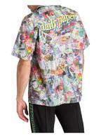 DAILY PAPER Halbarm-Resorthemd Straight Fit, Farbe: HELLGRÜN/ PINK/ LILA (Bild 1)
