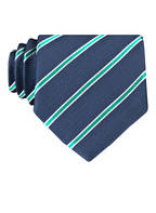 HUGO Krawatte, Farbe: DUNKELBLAU/ MINT (Bild 1)