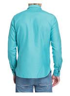 FIL NOIR Hemd BERGAMO Shaped Fit, Farbe: TÜRKIS STRUKTUR (Bild 1)
