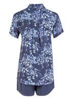 SCHIESSER Schlafanzug, Farbe: BLAU/ MINT/ HELLBLAU (Bild 1)