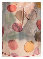 LUISA CERANO Seidenbluse, Farbe: NÜDE/ ROSÉ/ ROT (Bild 1)