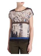 TAIFUN T-Shirt, Farbe: OLIV/ SCHWARZ (Bild 1)
