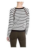 TAIFUN Pullover, Farbe: WEISS/ SCHWARZ (Bild 1)