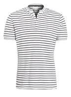 NOWADAYS Piqué-Poloshirt, Farbe: WEISS (Bild 1)