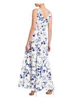 LAUREN RALPH LAUREN Abendkleid TIVIANA, Farbe: WEISS/ BLAU (Bild 1)