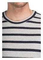CLOSED Pullover, Farbe: HELLGRAU/ DUNKELBLAU GESTREIFT (Bild 1)