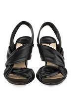 JIMMY CHOO Sandalette LALIA 100, Farbe: SCHWARZ (Bild 1)