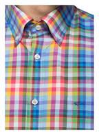 PAUL & SHARK Halbarm-Hemd Tailored Fit, Farbe: BLAU/ ROT/ GRÜN KARIERT (Bild 1)