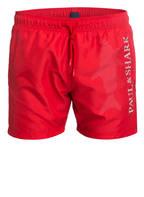 PAUL & SHARK Badeshorts, Farbe: ROT (Bild 1)