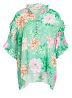 yippie hippie Bluse JARDIN, Farbe: GRÜN/ PINK (Bild 1)