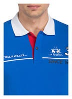 LA MARTINA Piqué-Poloshirt Slim Fit, Farbe: BLAU (Bild 1)