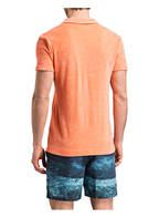 ORLEBAR BROWN Frottee-Poloshirt, Farbe: ORANGE (Bild 1)