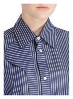 LOEWE Bluse, Farbe: DUNKELBLAU/ WEISS (Bild 1)