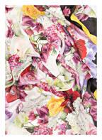 DOLCE&GABBANA Schal, Farbe: WEISS/ GRÜN/ PINK (Bild 1)