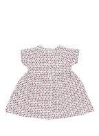 PETIT BATEAU Kleid, Farbe: WEISS/ ROT/ DUNKELBLAU (Bild 1)