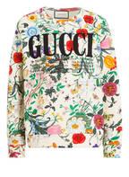 GUCCI Oversized-Sweatshirt, Farbe: ECRU/ GRÜN/ ROT (Bild 1)