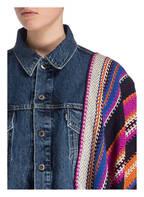 Levi's® Jeansjacke , Farbe: BLAU/ PINK/ ORANGE (Bild 1)
