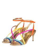 Guess Sandaletten, Farbe: ORANGE/ PINK/ GELB (Bild 1)