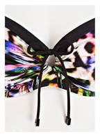 Charmline Bügel-Bikini PSYCHODELIC TIGER, Farbe: SCHWARZ/ BLAU/ PINK (Bild 1)