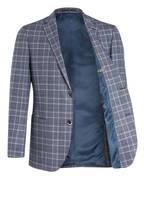 EDUARD DRESSLER Sakko Shaped Fit, Farbe: HELLGRAU/ DUNKELBLAU KARIERT (Bild 1)