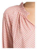 IVI collection Blusenshirt, Farbe: LACHS/ WEISS (Bild 1)