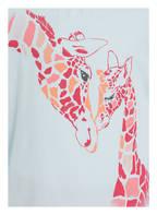 Sanetta Schlafanzug, Farbe: HELLBLAU/ PINK (Bild 1)