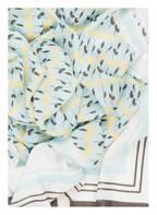 BOSS Tuch NANELE, Farbe: WEISS/ HELLBLAU/ DUNKELGRAU (Bild 1)