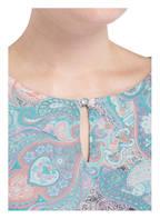 MORE & MORE Bluse, Farbe: PETROL/ HELLROSA (Bild 1)
