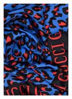 GUCCI Seidentuch, Farbe: BLAU/ ROT (Bild 1)