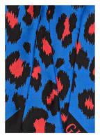 GUCCI Seidenschal, Farbe: BLAU/ ROT/ SCHWARZ (Bild 1)
