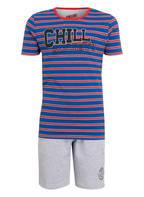 VINGINO Schlafanzug WALTON, Farbe: BLAU/ ROT GESTREIFT (Bild 1)