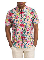 POLO RALPH LAUREN Halbarm-Hemd Tailored Fit, Farbe: ROSA/ FUCHSIA/ MINT (Bild 1)