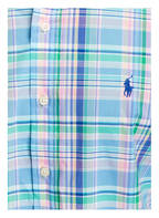 POLO RALPH LAUREN Hemd Classic Fit, Farbe: HELLBLAU/ GRÜN/ ROSA  (Bild 1)