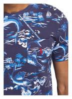 POLO RALPH LAUREN T-Shirt, Farbe: DUNKELBLAU/ WEISS/ HELLBLAU (Bild 1)