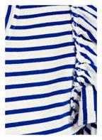 J.Crew T-Shirt mit Volantsärmel, Farbe: BLAU/ WEISS GESTREIFT (Bild 1)