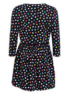 J.Crew Kleid, Farbe: SCHWARZ/ PINK/ WEISS (Bild 1)