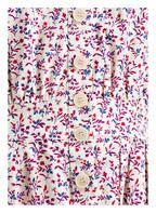 ba&sh Kleid SARAH, Farbe: ECRU/ ROT/ BLAU (Bild 1)