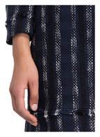 CLAUDIE PIERLOT Tweed-Rock SEVEN , Farbe: DUNKELBLAU/ SCHWARZ/ WEISS (Bild 1)