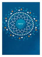 me°ru' Funktionsshirt ENKÖPING mit Merinowolle-Anteil, Farbe: BLAU (Bild 1)