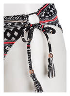BRUNOTTI Bikini-Hose SOPHIAS, Farbe: SCHWARZ/ KORALLE (Bild 1)